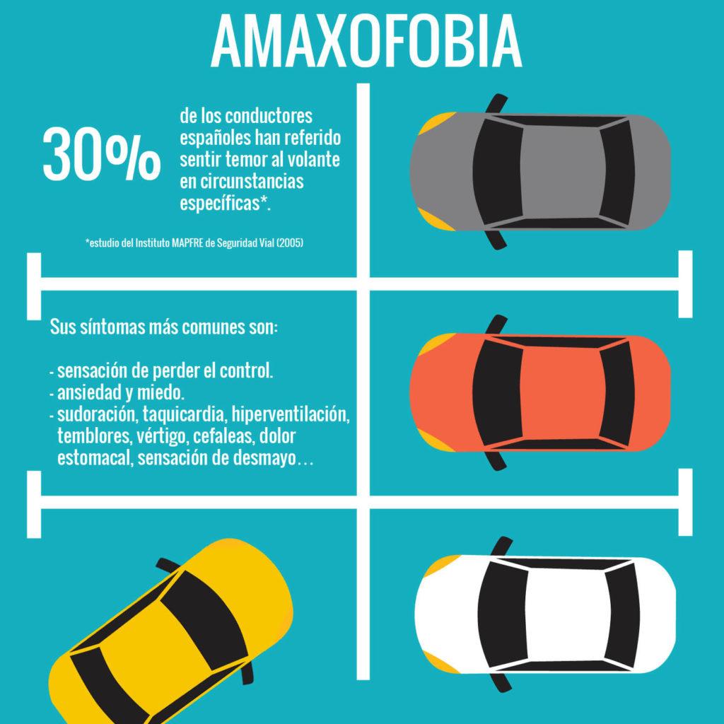 amaxofobia sintomas