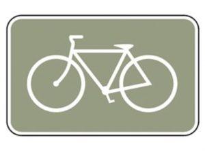 Esta Señal de Bicicleta